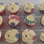 Birthday Cupcakes delivered in Carmarthenshire